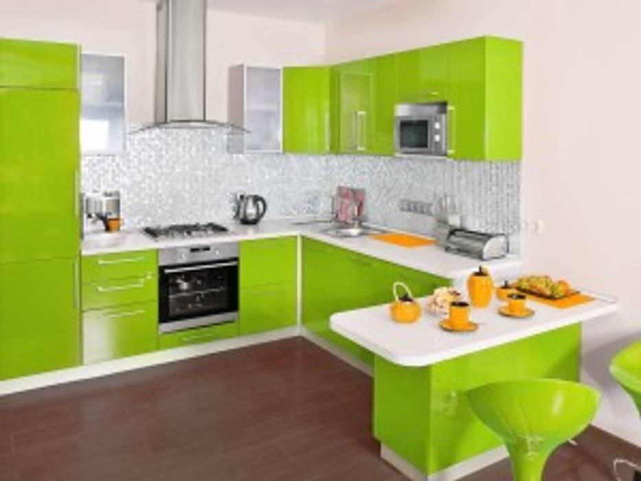 Modular Kitchen by Oxedea Interiors