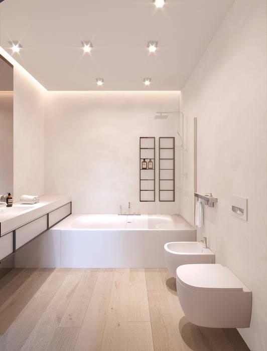 Ванная : Ванные комнаты в . Автор – ECOForma