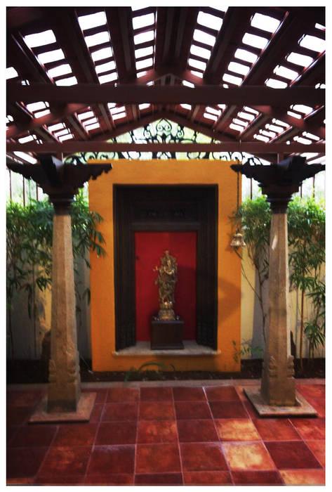 Ausgefallener Garten von Sandarbh Design Studio Ausgefallen