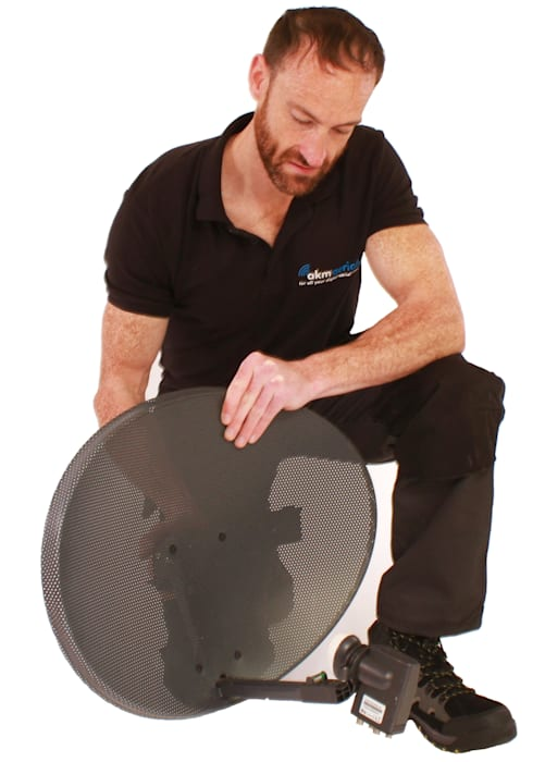 Satellite dish installation Burford:  Electronics by Burford Aerials