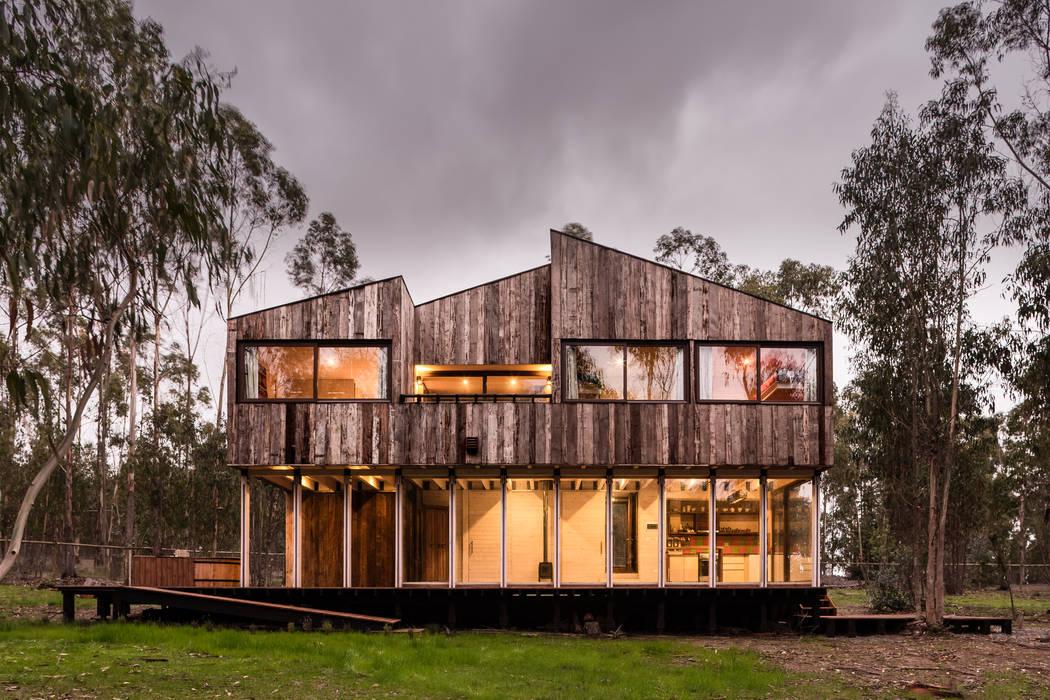 Chalets de estilo  por Dx Arquitectos,