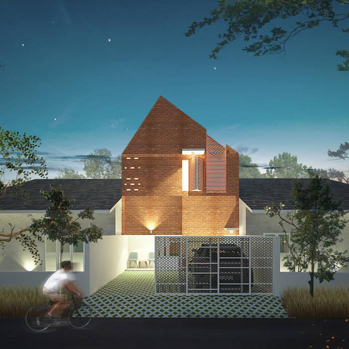6x15 House Rumah Tropis Oleh SEKALA Studio Tropis Batu Bata