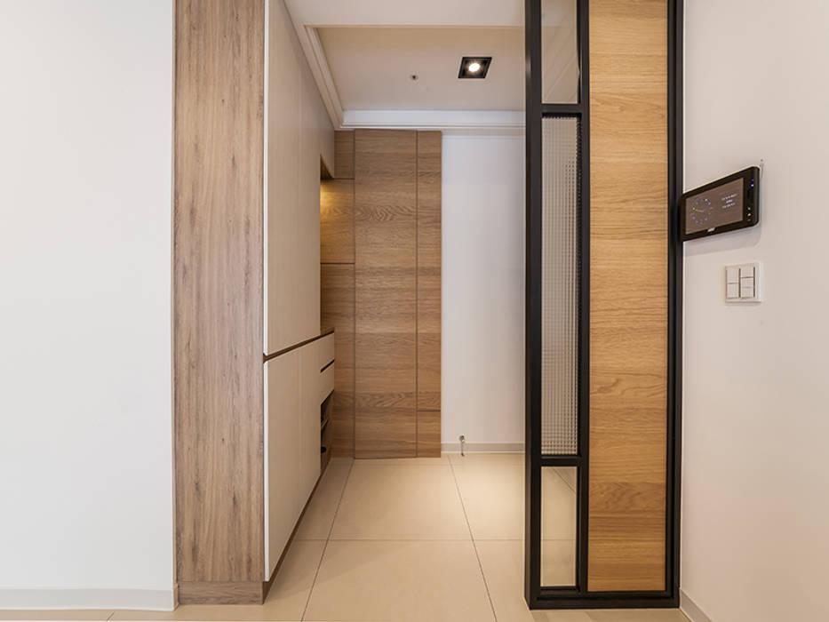 北歐風格美學新體驗 好室佳室內設計 斯堪的納維亞風格的走廊,走廊和樓梯