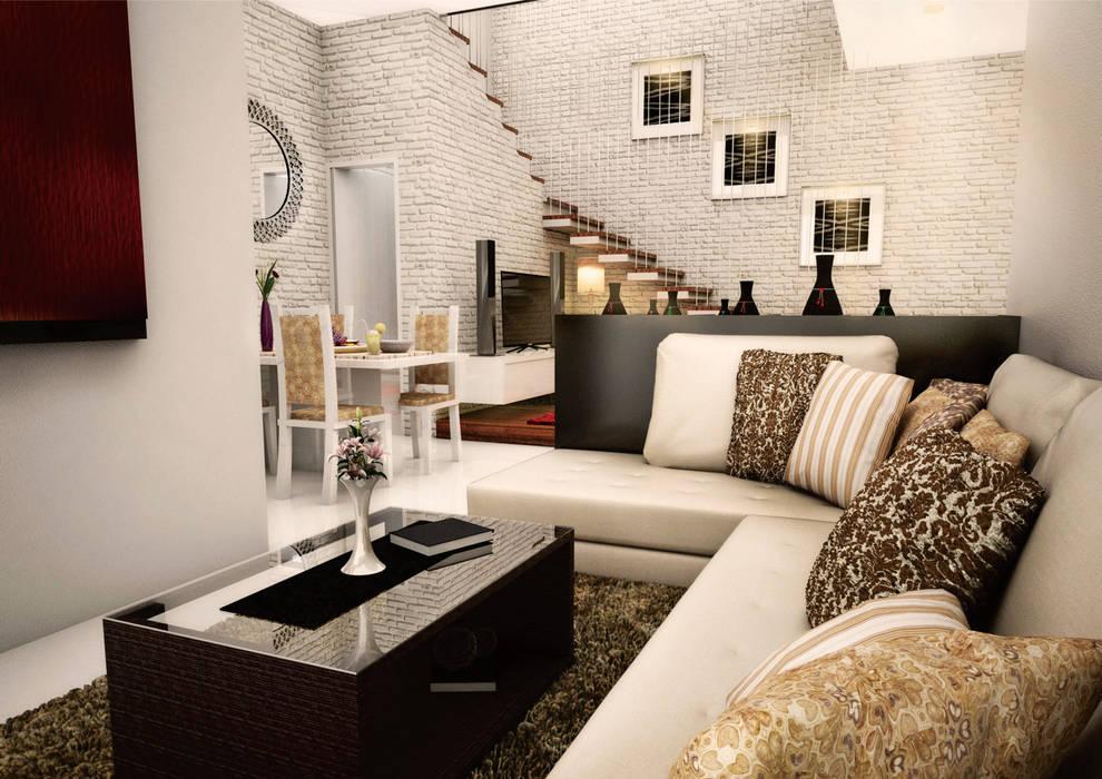 living room: Ruang Keluarga oleh ilalangcorp, Modern