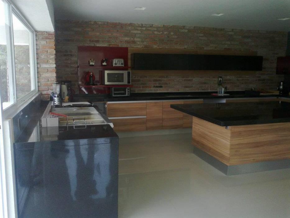 Granito Negro San Gabriel Cocinas Minimalistas De Proyecto Y