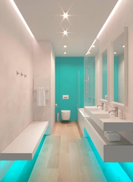 Детская ванная: Ванные комнаты в . Автор – ECOForma