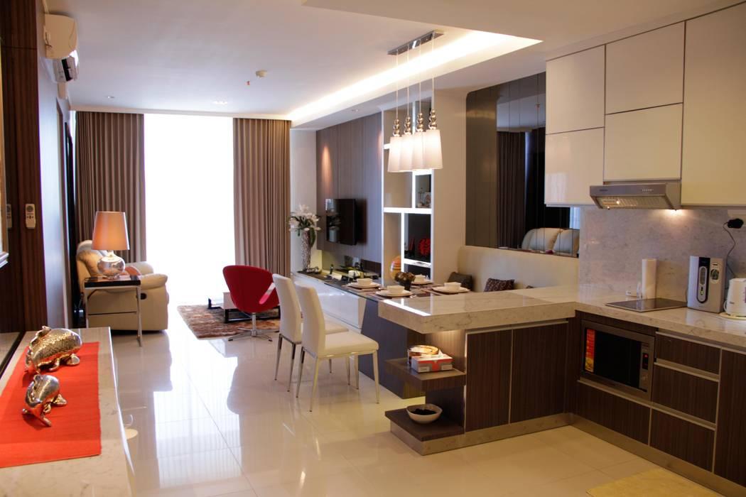 Comedores de estilo  por Kottagaris interior design consultant, Minimalista