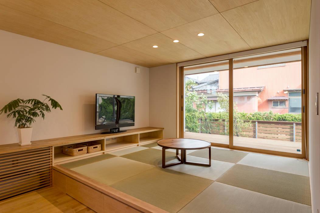 北上の家: 株式会社山口工務店が手掛けた和室です。