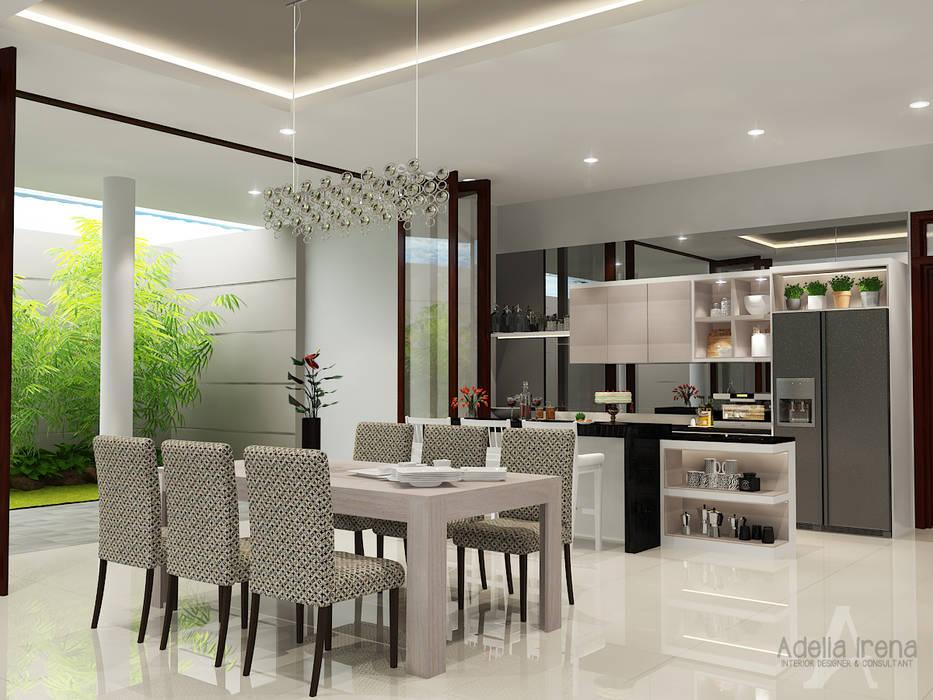 Ruang Makan: Ruang Makan oleh AIRE INTERIOR ,