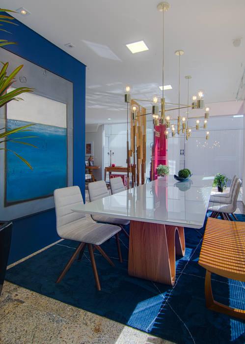 Tela de Lona por Sgabello Interiores Minimalista Têxtil Ambar/dourado