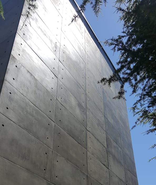 Concrete Beton Exterior Facade Cladding Panel with CRETOX by CRETOX Concrete Panels by NETEREN Co.Ltd. Modern Tiles