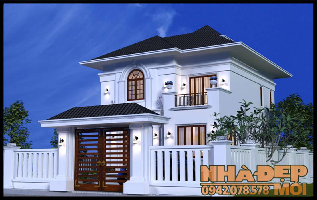Sống động và mềm mại bởi Công ty TNHH TKXD Nhà Đẹp Mới Châu Á