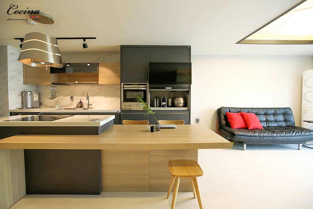 양천구 목동 신시가지아파트 10단지: cocina의  주방,러스틱 (Rustic)