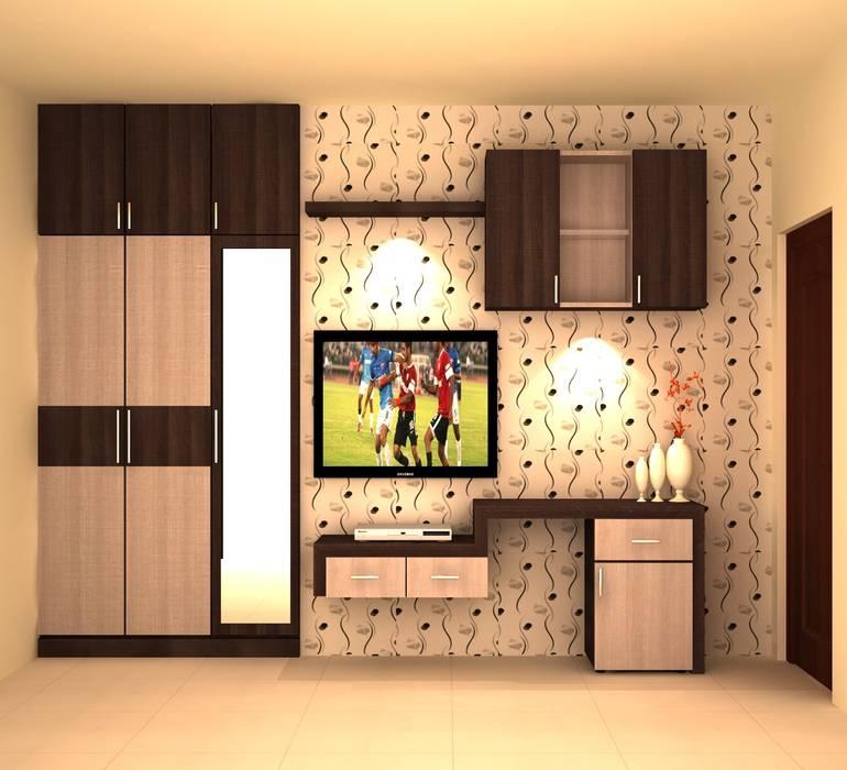 Habitaciones modernas de adorn Moderno