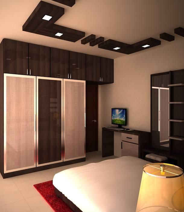 Interiors Moderne Schlafzimmer von adorn Modern