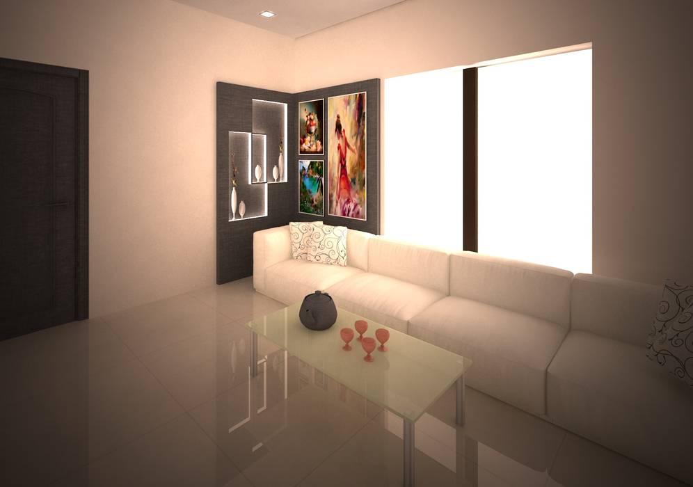 Salas / recibidores de estilo  por adorn, Moderno