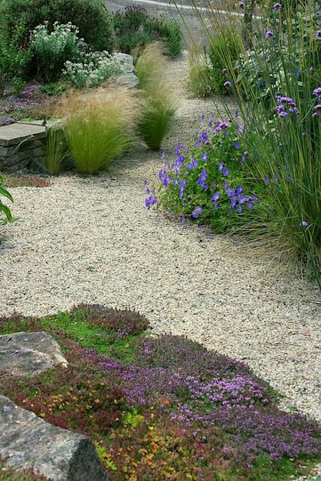 decorative aggregates: modern Garden by Town and Country Gardens