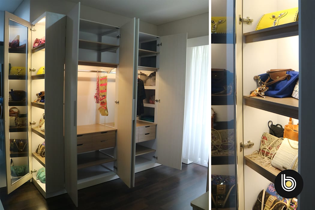 BB Studio Designs Modern style bedroom