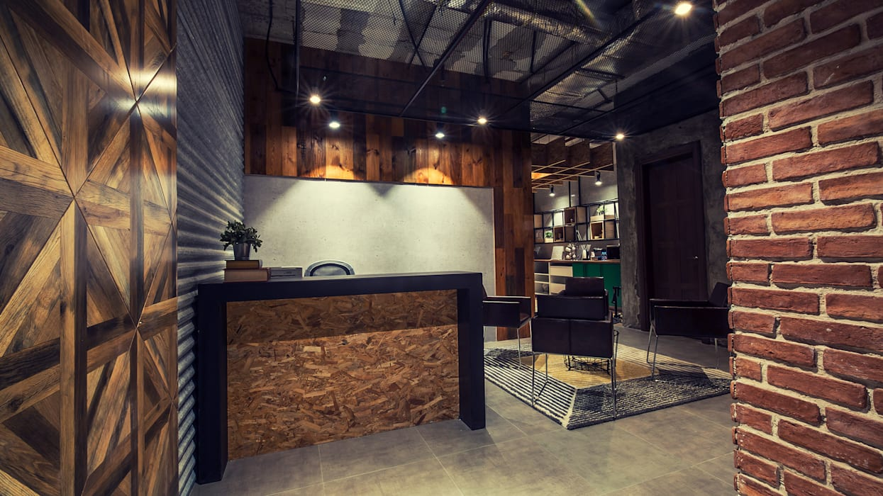 ِشركة أبواب :  مكاتب ومحلات تنفيذ FN Design, صناعي