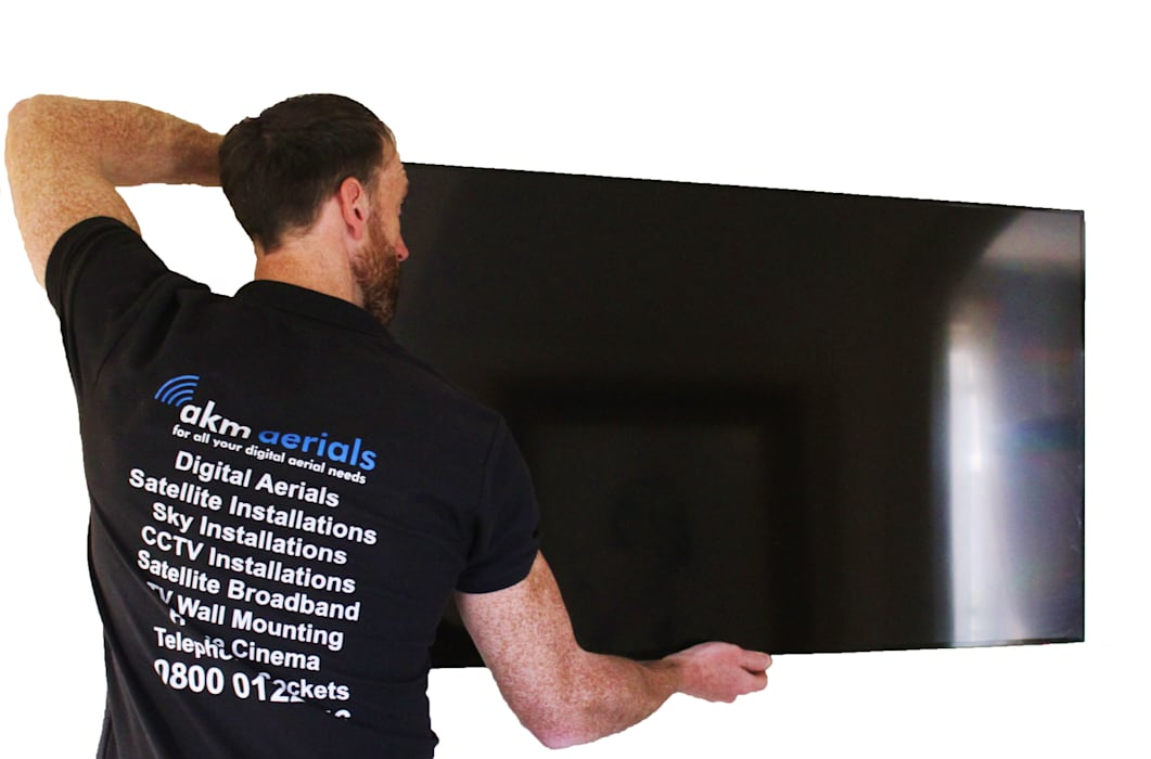 TV wall mounting Dursley:  Electronics by Dursley Aerials