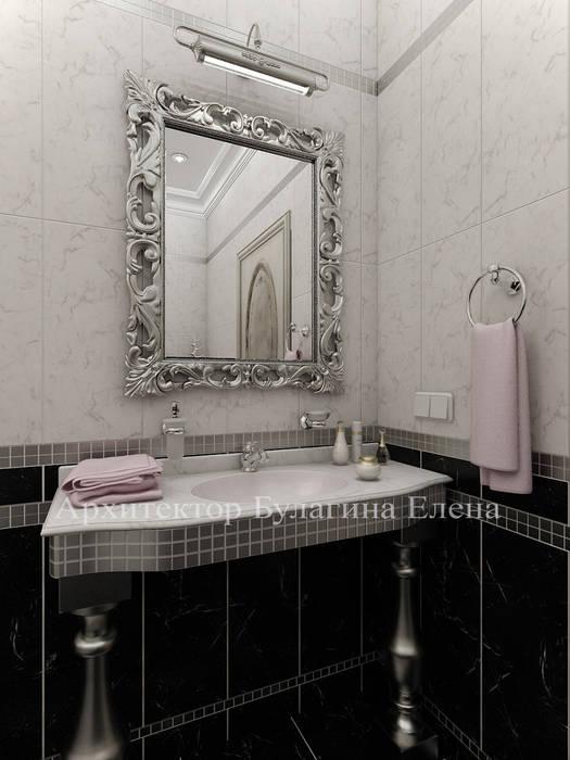 Ванная комната: Ванные комнаты в . Автор – Архитектурное Бюро 'Капитель',