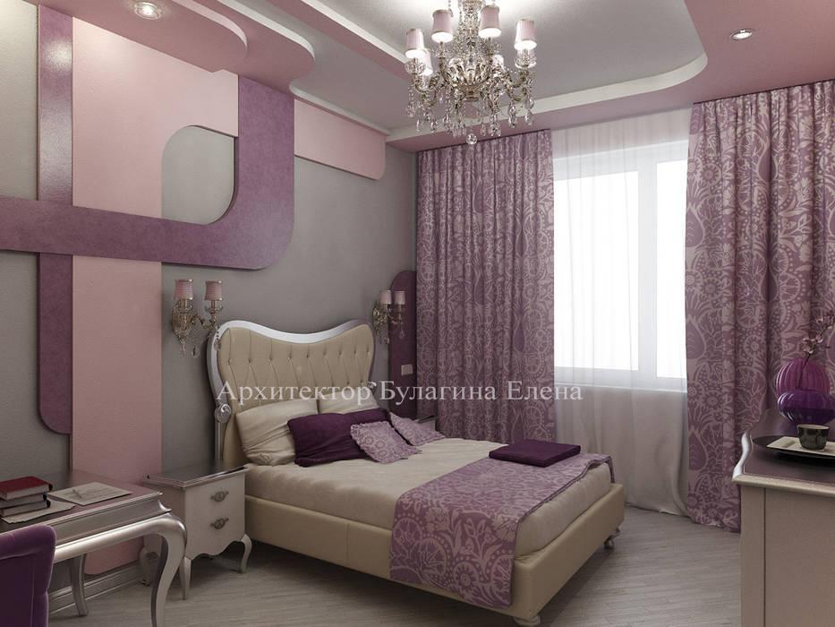 Интерьер спальни в стиле ар-деко: Спальни в . Автор – Архитектурное Бюро 'Капитель'