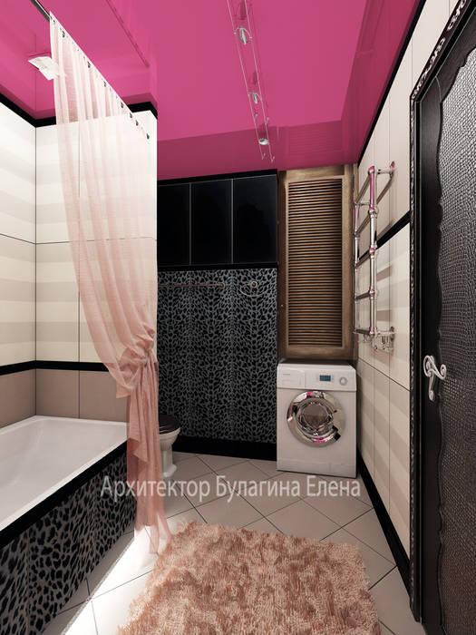 Ванная: Ванные комнаты в . Автор – Архитектурное Бюро 'Капитель'