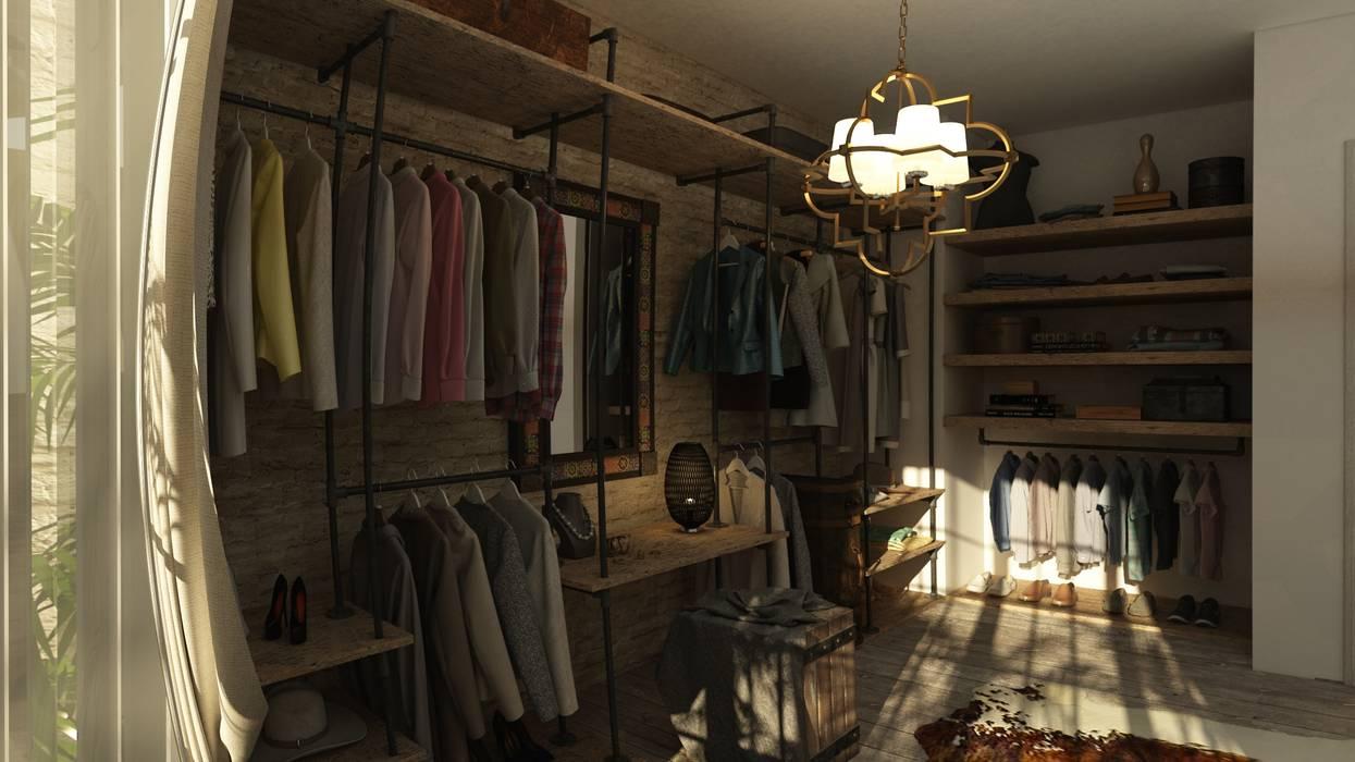 Dressing room by ICONIC DESIGN STUDIO,