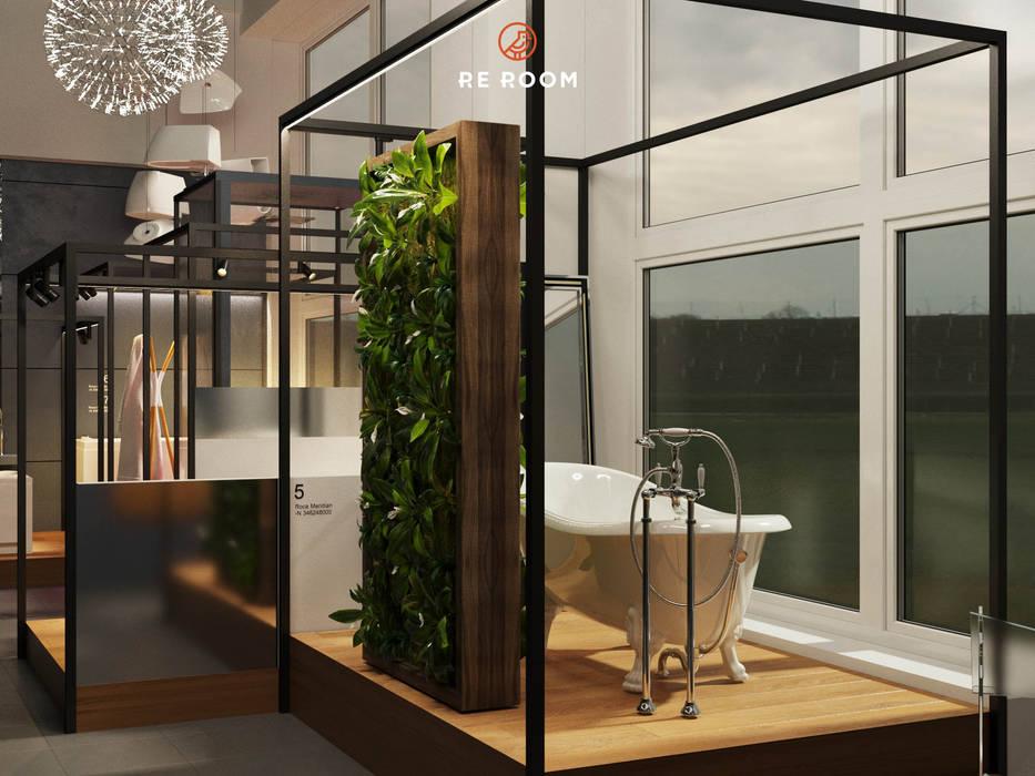 Minimalistische Ladenflächen von Reroom Minimalistisch