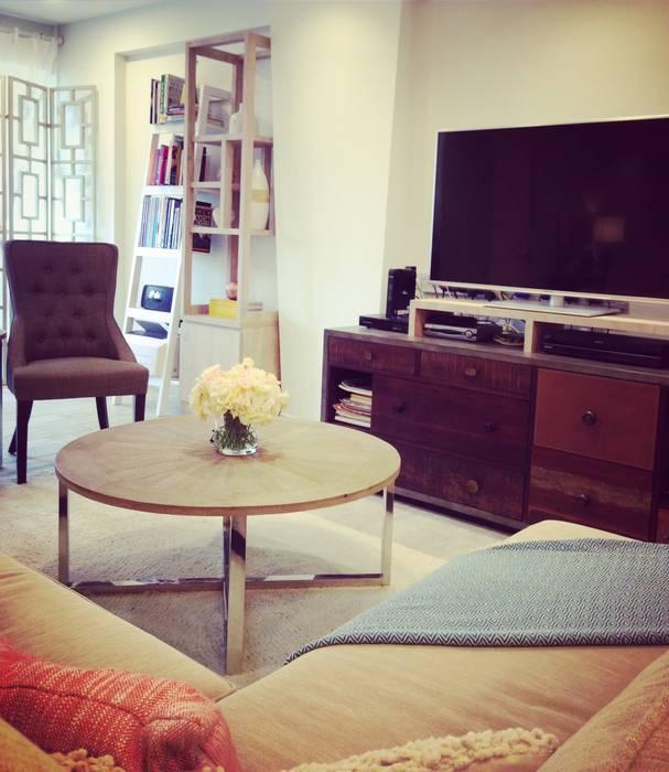Project Asgard @ Pasir Ris:  Living room by ab1 Abode Pte Ltd,Scandinavian