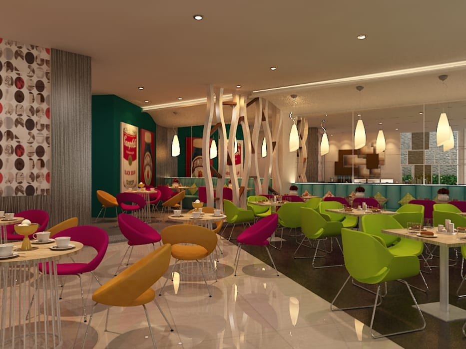 Hotel Coklat: Hotels oleh Kottagaris interior design consultant, Modern