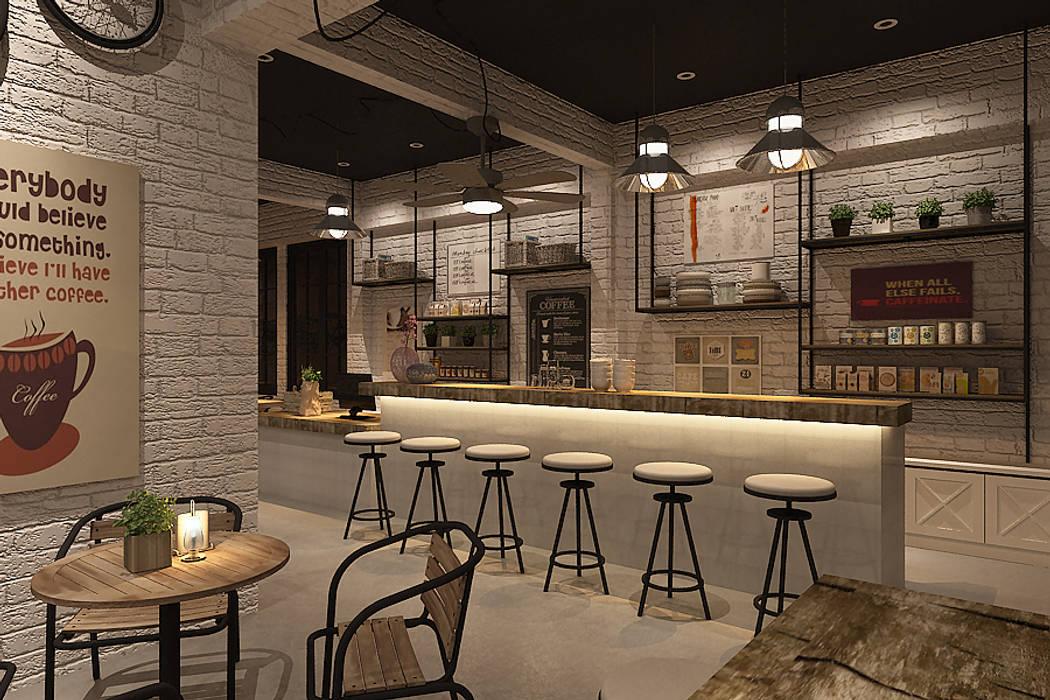 view 1 - 5 Desain Industrial Minimalis yang Simpel dan Keren untuk Kafe Mungil