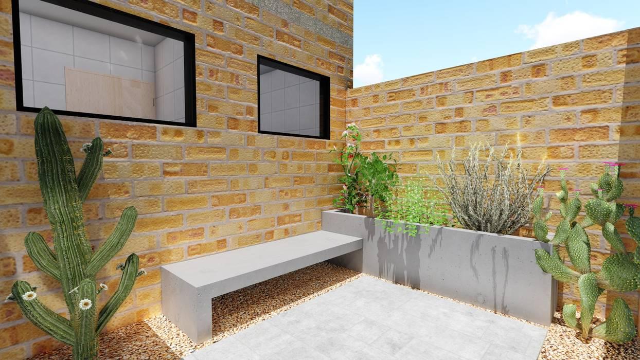 Jardines de estilo  por Richard Aléxis Silva, Rústico