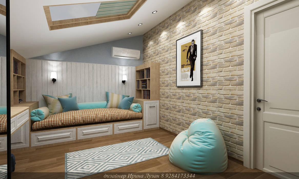 Teen bedroom by Творческая мастерская Лузан Ирины