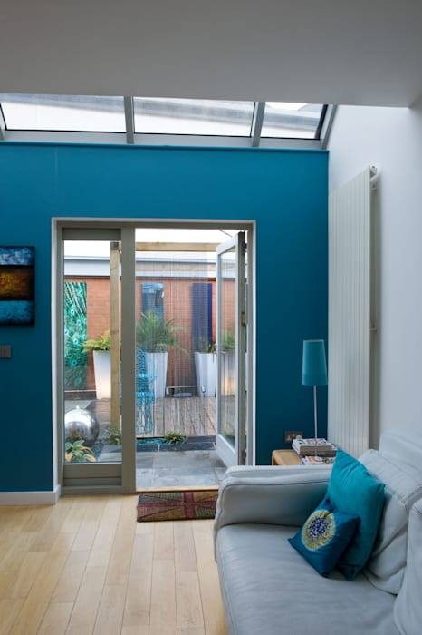 The view from the inside out:  Garden by Earth Designs