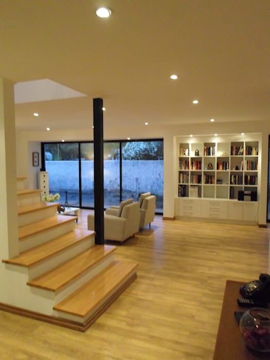 [ER+] Arquitectura y Construcción Couloir, entrée, escaliers minimalistes