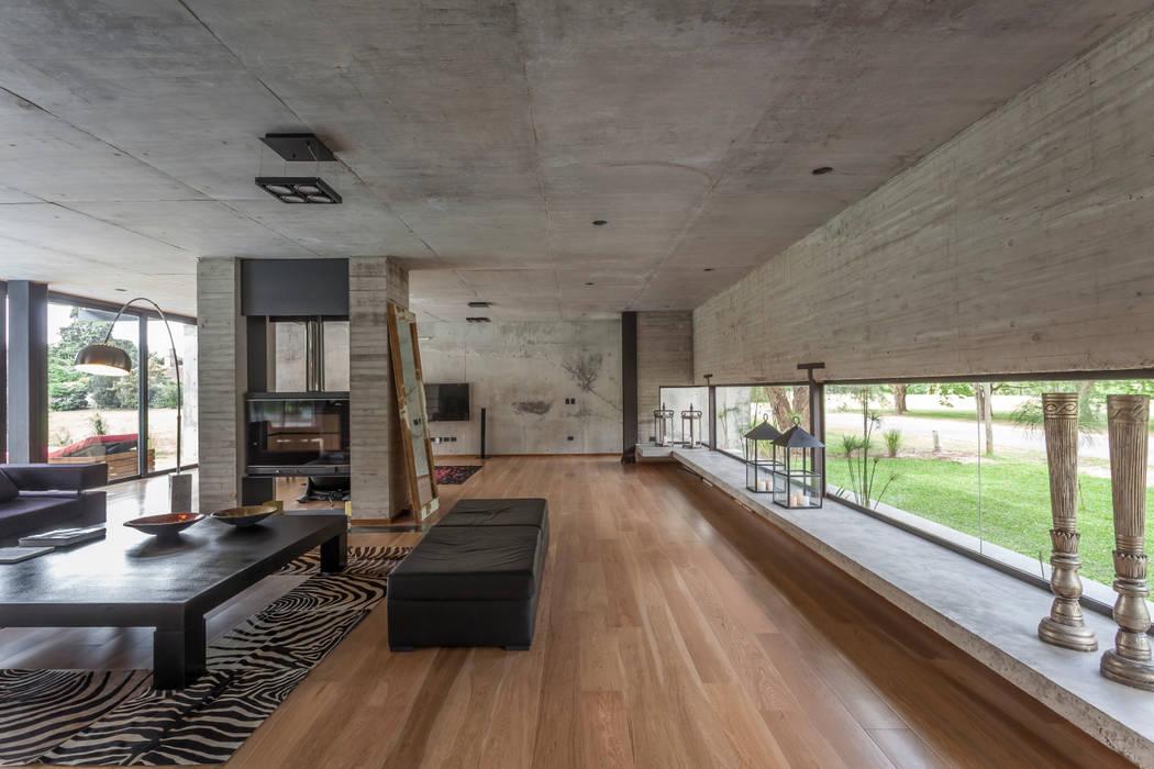 Livings de estilo minimalista de Ciudad y Arquitectura Minimalista