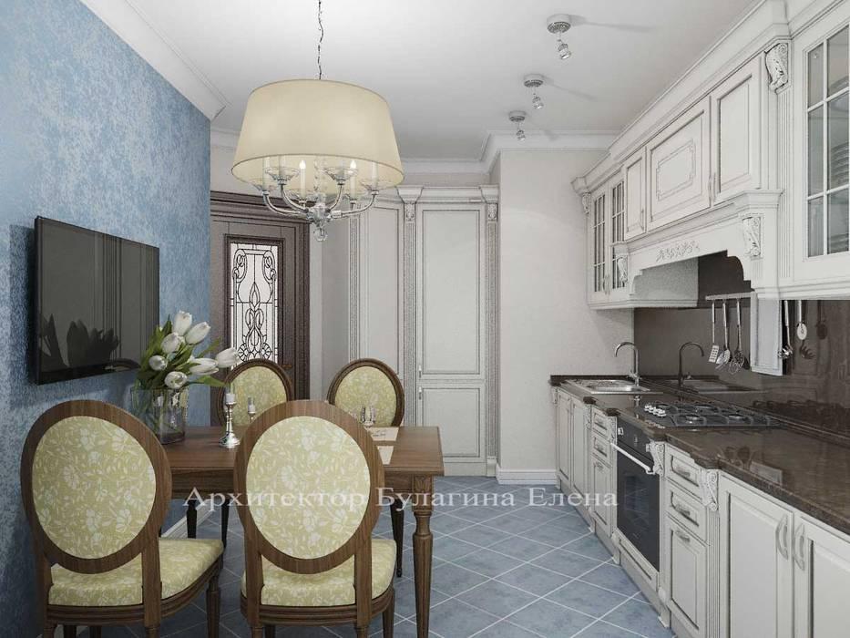 Кухня: Кухни в . Автор – Архитектурное Бюро 'Капитель', Классический