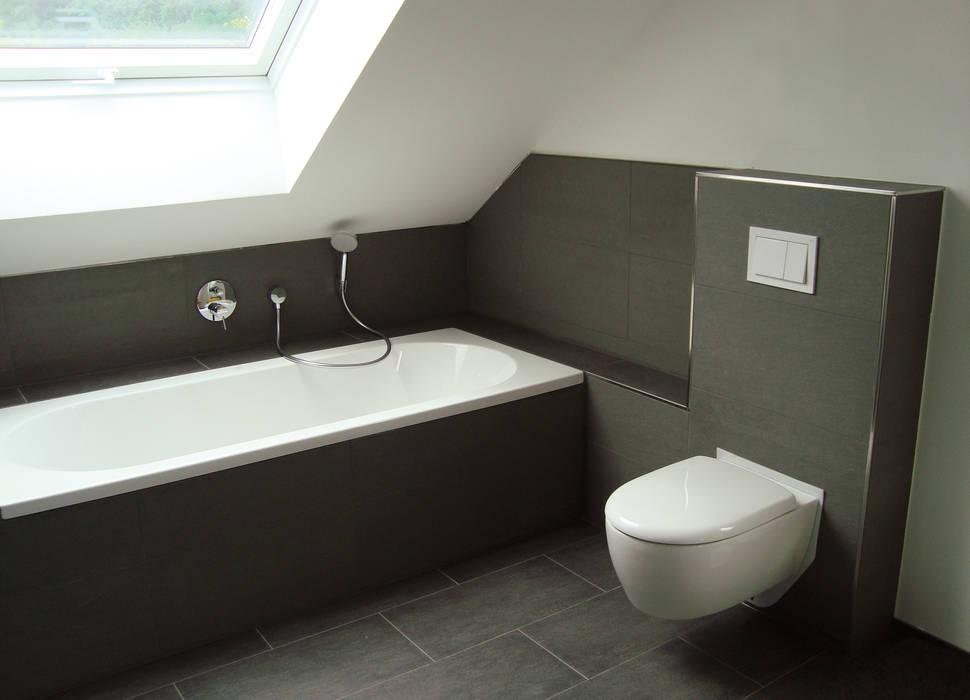 Badezimmer unter der dachschräge moderne badezimmer von ...