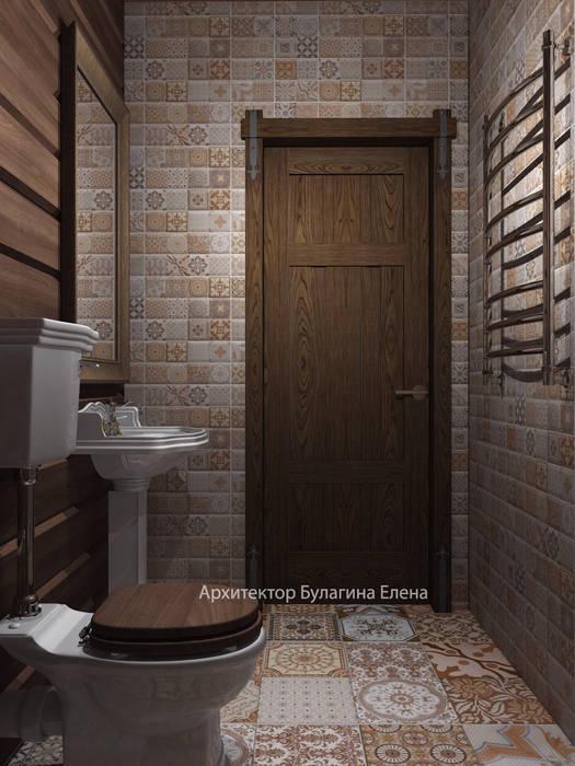 Сан узел: Ванные комнаты в . Автор – Архитектурное Бюро 'Капитель'