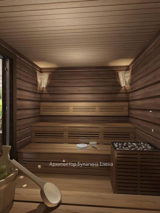 Сауна: Спа в . Автор – Архитектурное Бюро 'Капитель'