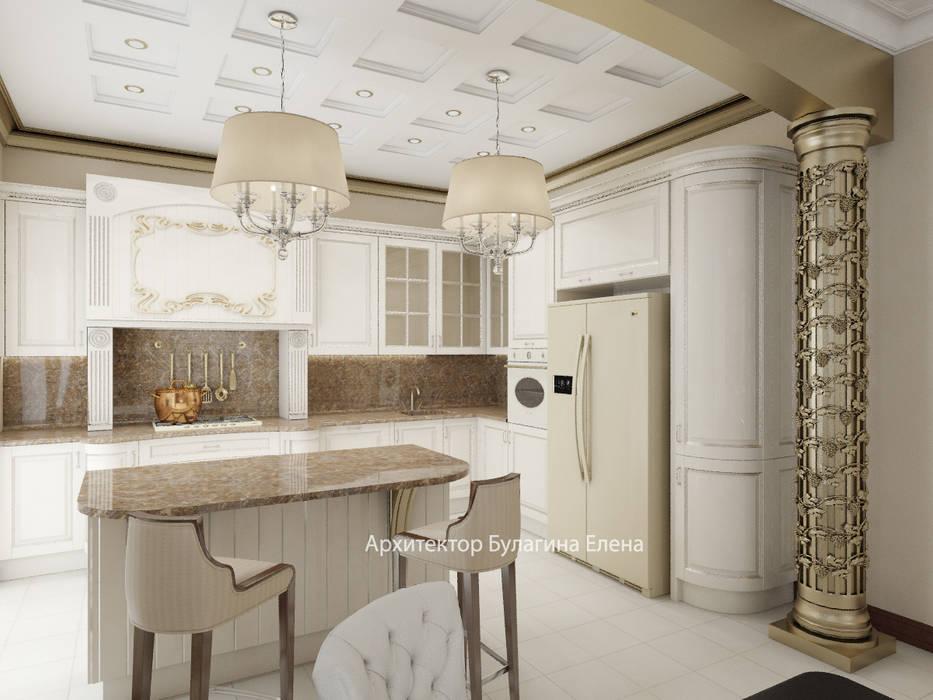 Кухня: Кухни в . Автор – Архитектурное Бюро 'Капитель'