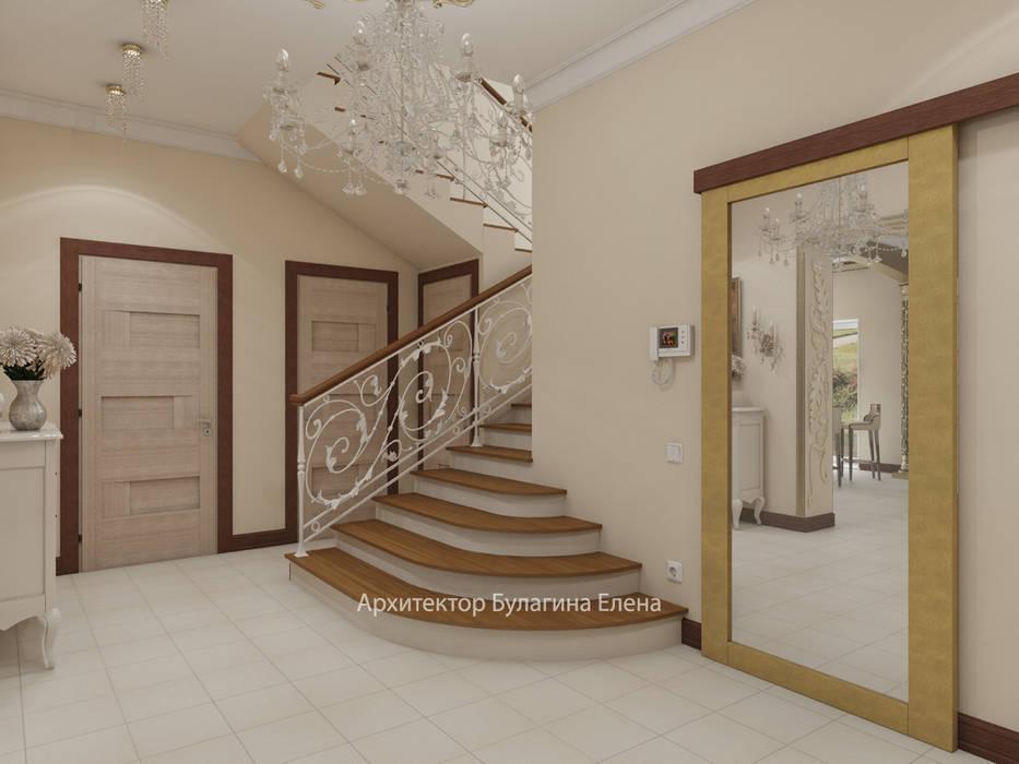 Холл: Коридор и прихожая в . Автор – Архитектурное Бюро 'Капитель'