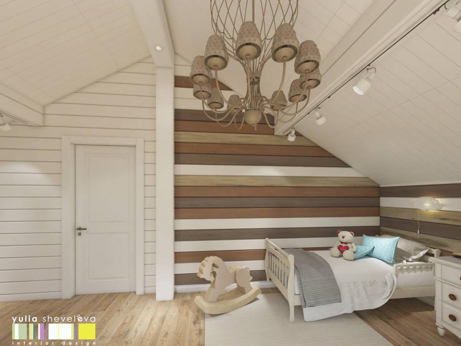 СЕВЕРНАЯ СКАЗКА : Детские комнаты в . Автор – Мастерская интерьера Юлии Шевелевой