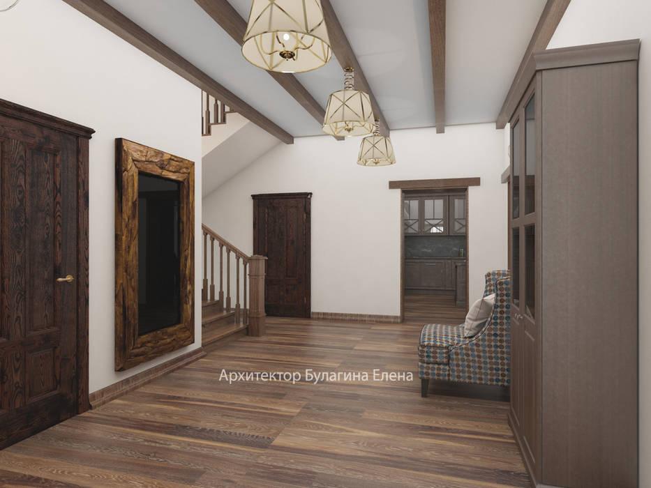 Холл 1 этаж: Коридор и прихожая в . Автор – Архитектурное Бюро 'Капитель'
