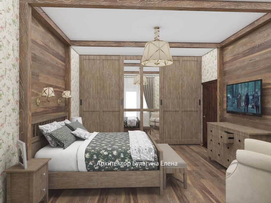 Спальня: Спальни в . Автор – Архитектурное Бюро 'Капитель',