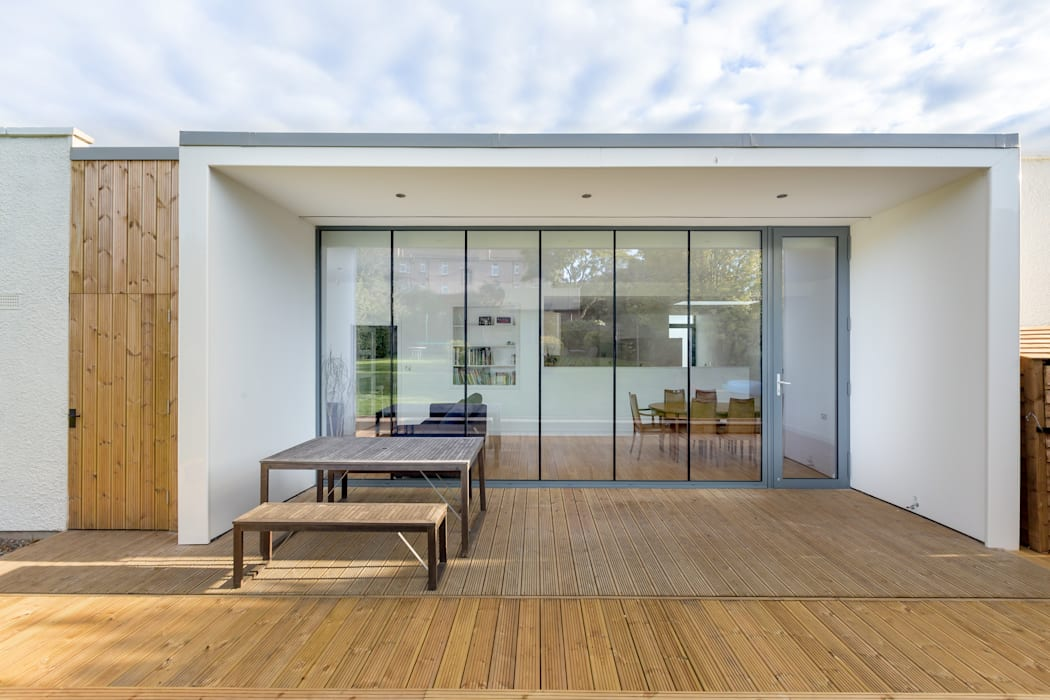 Large Glazed Extension :  Detached home by Capital A Architecture