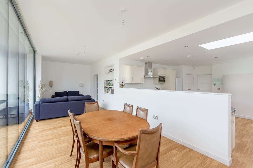 Contemporary House Extension, 22 Featherhall Crescent North, Edinburgh Capital A Architecture Built-in kitchens