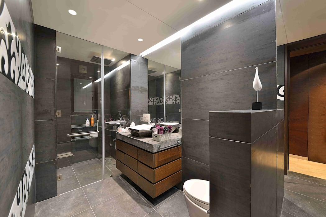 Modern bathroom by homify Modern