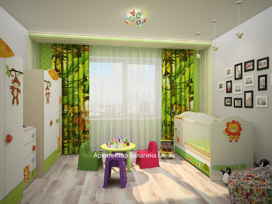 Детская: Детские комнаты в . Автор – Архитектурное Бюро 'Капитель'